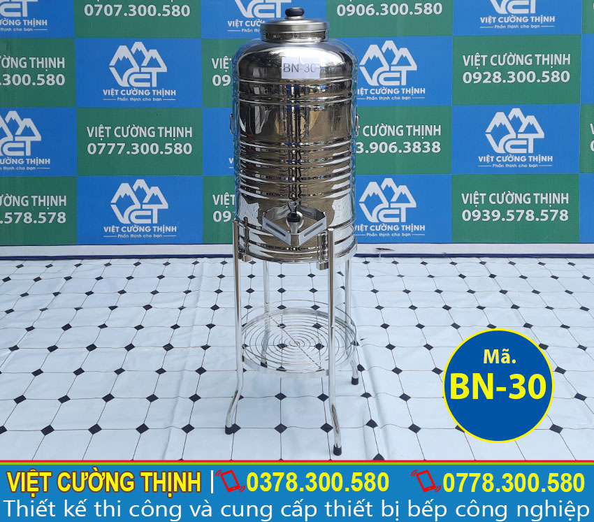 Chân bình nước inox 304