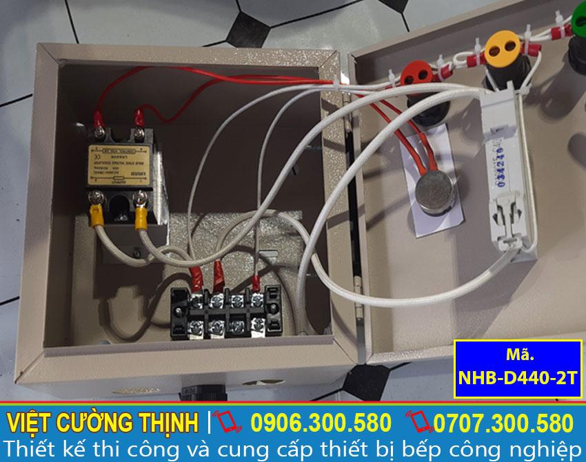Góc trong hộp điện, thiết kế đơn giản, dễ sử dụng, đảm bảo an toàn