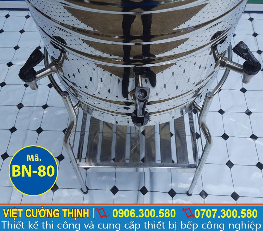 Vòi nước Bình đựng nước inox 80L