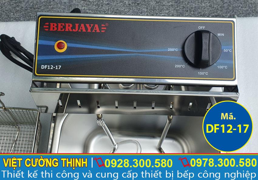 Công tắc bếp chiên nhúng đơn Berjaya sử dụng điện