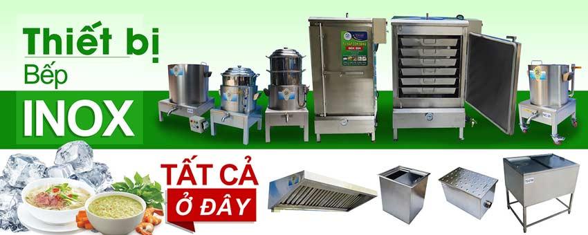Thi công thiết bị bếp inox công nghiệp uy tín trọn gói tại TP HCM và lân cận.