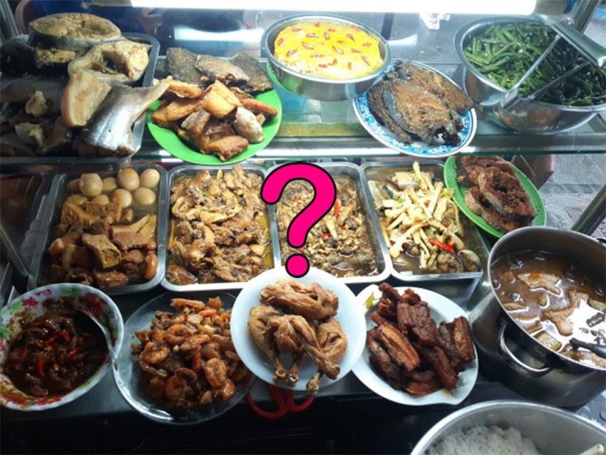 Thức ăn tại quán cơm có đảm bảo không ôi thiu