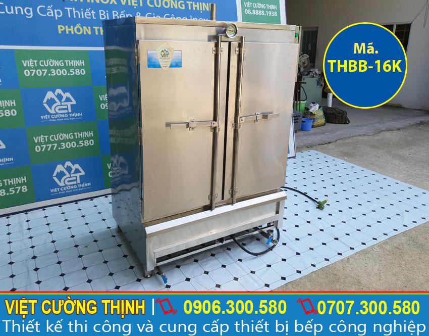 Tủ hấp bánh bao công nghiệp giá tại xưởng Việt Cường Thịnh