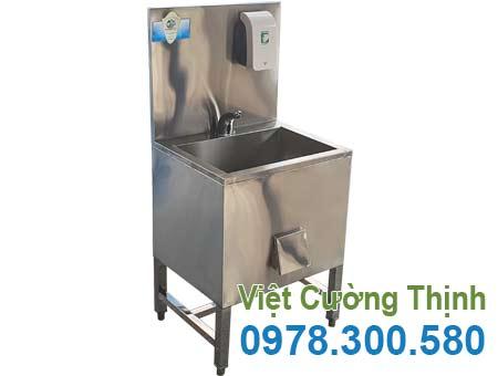Bồn rửa tay inox công nghiệp CR-39