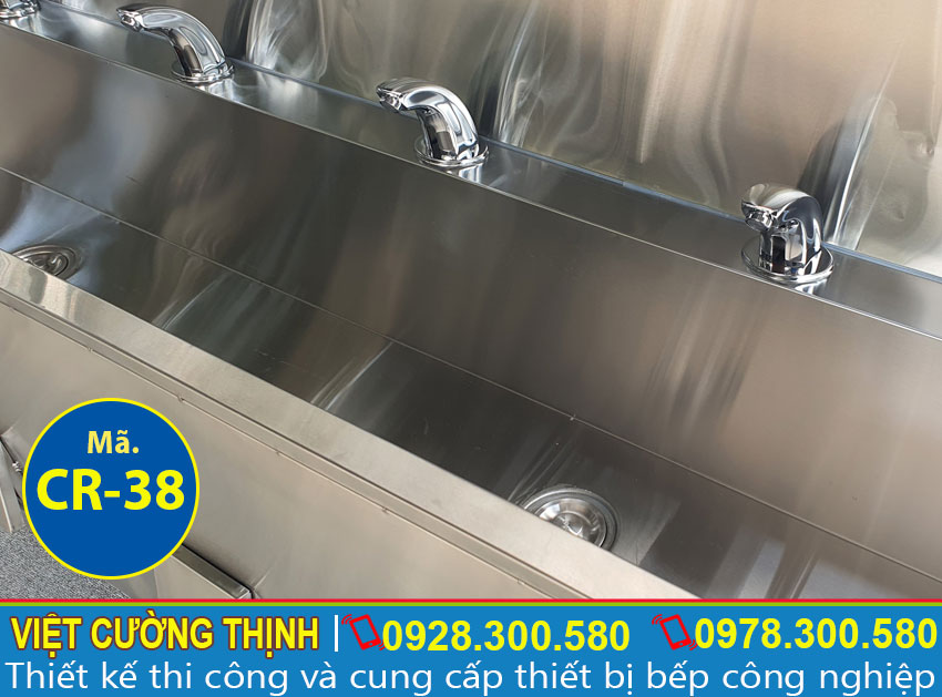 Chậu rửa tay công nghiệp inox CR-38 (09)