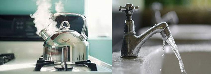 Đun nước, Xả vòi nước chảy. Dọn về nhà mới cần làm những gì