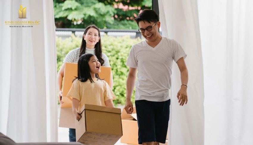 Giữ tâm trạng vui vẻ khi dọn về nhà mới