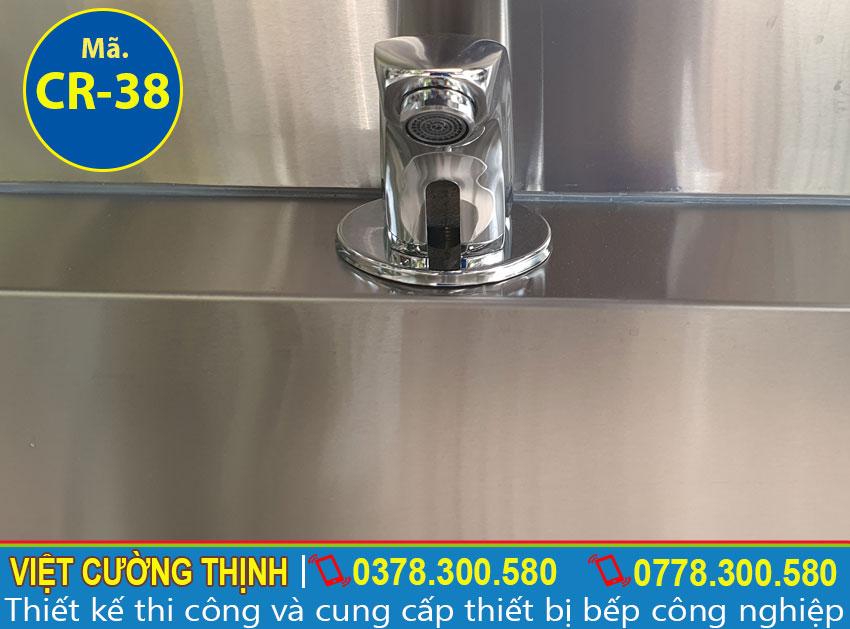 Vòi xả nước chậu rửa tay công nghiệp inox CR-38
