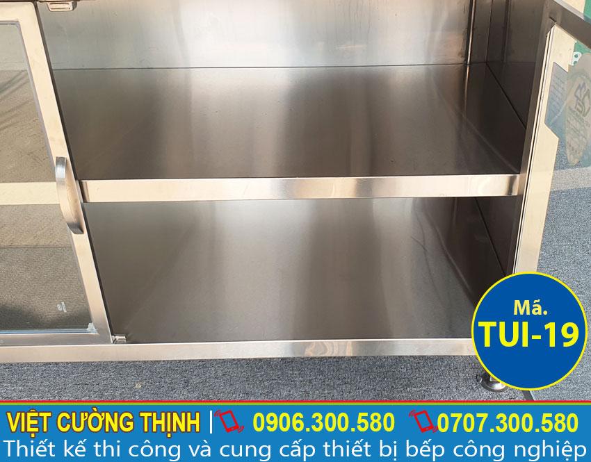 Hộc tủ inox chứa đồ TUI-19
