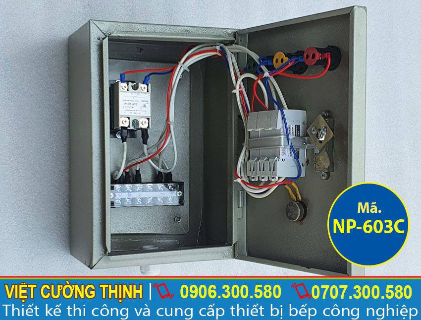 Hộp điện nồi nấu phở bằng điện 3 chân 3 chân NP-603C