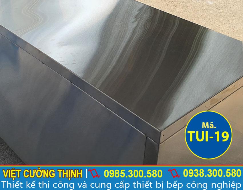 Mặt tủ inox chứa đồ TUI-19