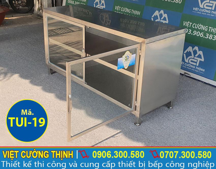 Tủ inox chứa đồ TUI-19 (01)