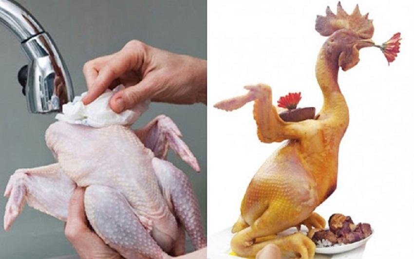 Cách luộc gà cúng đúng cách