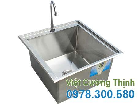 Chậu rửa đơn inox 304 CR-40B